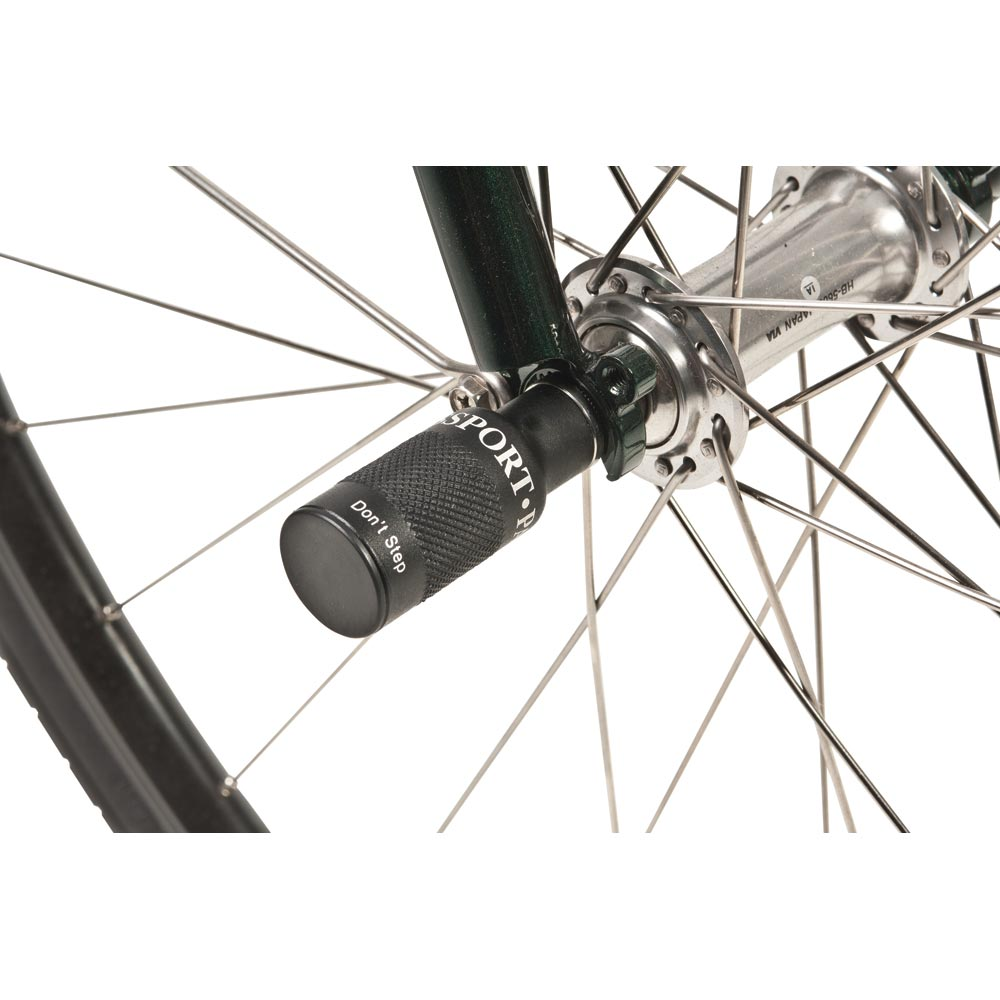 Bicycle Hub Quick Release Wheel Lamp Mount Flashlight Grip Bike Holder Bracket