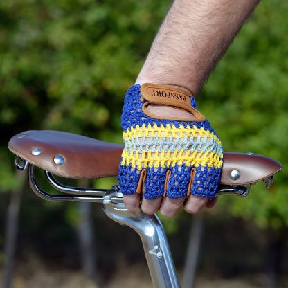 Crochet Back Cycling Gloves