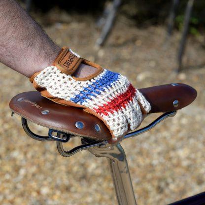 Crochet Back Cycling Gloves