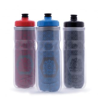 Passport reflective water bottles