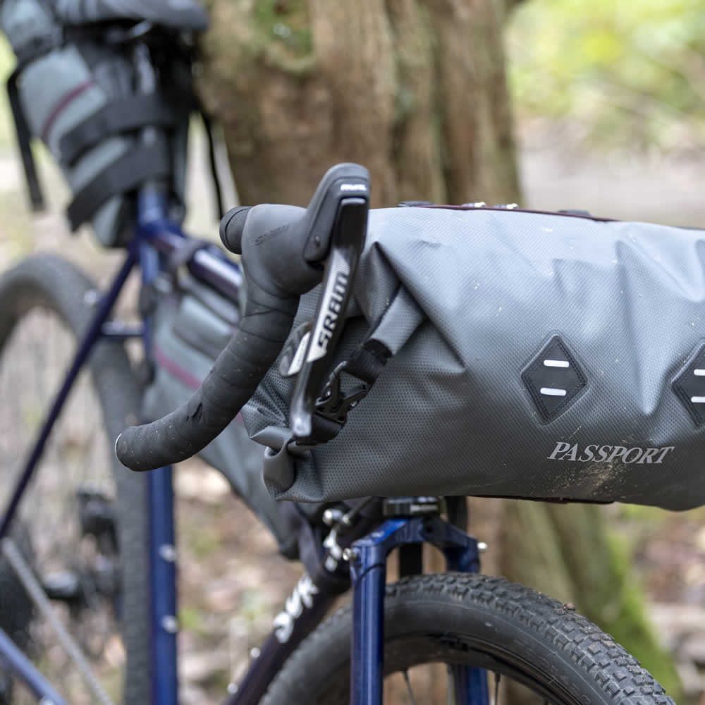 Bikepacking Fork Mount Luggage Carrier Adventure Bike NEW Passport Lug-Kage