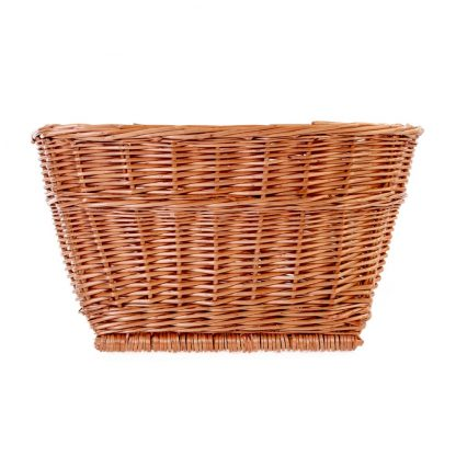 Passport Rectangular Wicker Basket front