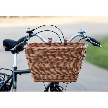 Passport Rectangular Wicker Basket fitted